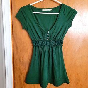 Fiorucci - Short sleeve shirt - Emerald green